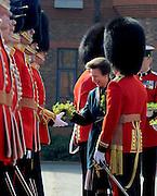 The Princess Royal hands out Shamrock