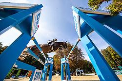 ORSCHEL Cassandra (POL), Dacara E<br /> Großer Preis der Deutschen Kreditbank AG (CSI2*)<br /> Springprüfung mit Stechen, international<br /> Höhe: 1,45m<br /> Paderborn - OWL Paderborn Challenge 2020<br /> 13. September2020<br /> © www.sportfotos-lafrentz.de/Stefan Lafrentz