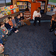 Voorleesdag bibliotheek Loosdrecht door Gijs Wanders