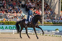 Gal Edward, NED, Glock's Zonik<br /> European Championship Dressage<br /> Rotterdam 2019<br /> © Hippo Foto - Dirk Caremans