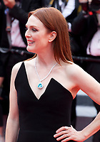 Actress Julianne Moore at the Yomeddine gala screening at the 71st Cannes Film Festival, Wednesday 9th May 2018, Cannes, France. Photo credit: Doreen Kennedy