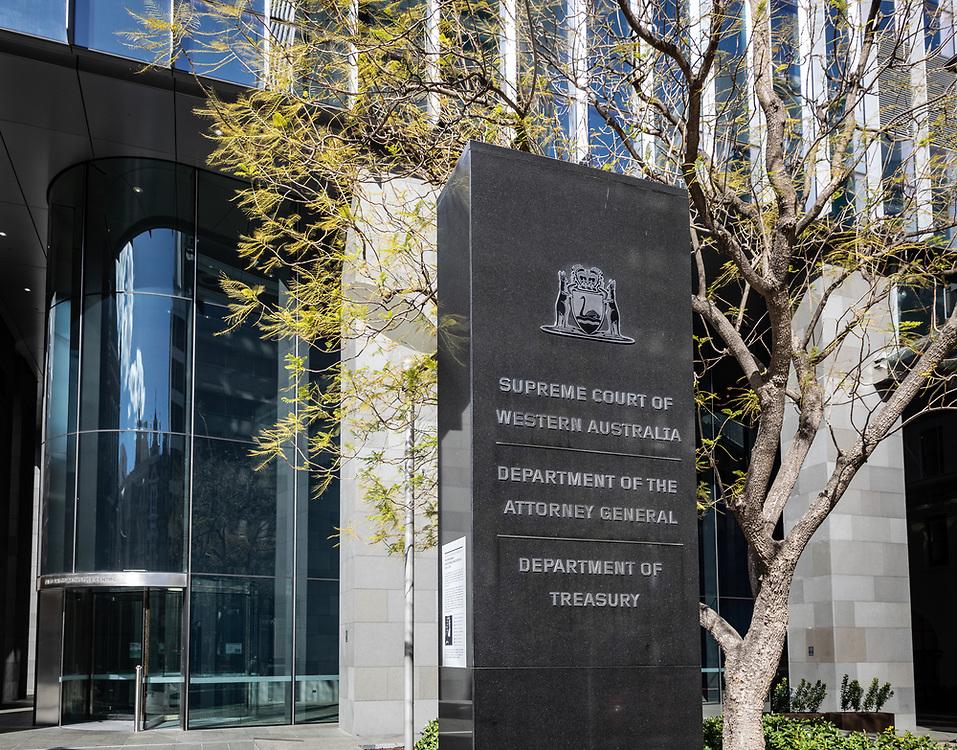 The Supreme Court of Western Australia, Barrack Street Perth,Thursday August 20, 2020.
