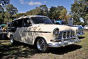 1958 FC Holden Station Wagon. 2011 Classic Car Show, Whiteman Park, Perth, Western Australia. March 20, 2011