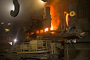 Profilarbed, S.A. Steel Mill in Luxembourg. Makes steel from scrap metal with an electric furnace. Profilarbed is now part of the Groupe Arcelor.