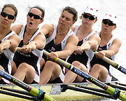 Poznan, POLAND,  GBR W8+, move away from the start in their morning heat, at the 2008 FISA World Cup. Rowing Regatta. Malta Rowing Course on Saturday, 21/06/2008. [Mandatory Credit:  Peter SPURRIER / Intersport Images] .Crew, right to left, Bow, Bet RODFORD, Carla ASHFORD, Natasha HOWARD, Natasha PAGE, Jessica-Jane EDDIE, Rowing Course:Malta Rowing Course, Poznan, POLAND