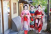 Kyoto, Japan, Geisha women