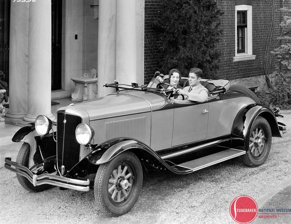 1931 Studebaker Six Roadster