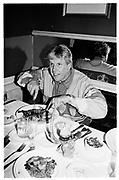 Gary Pusey (actor) at Caribou Club, Aspen Colorado1995© Copyright Photograph by Dafydd Jones 66 Stockwell Park Rd. London SW9 0DA Tel 020 7733 0108 www.dafjones.com