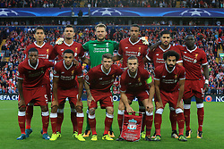 23rd August 2017 - UEFA Champions League - Play-Off (2nd Leg) - Liverpool v 1899 Hoffenheim - Liverpool team group - Photo: Simon Stacpoole / Offside.