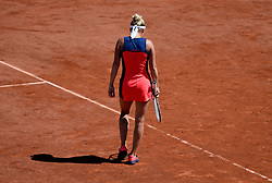 June 9, 2017 - Paris, France - Internationaux de tennis de Roland Garros - Paris Local caption International Tennis Championships of Roland Garros - Timea Bacsinszky # ROLAND GARROS DU 09 JUIN 2017 (Credit Image: © Visual via ZUMA Press)