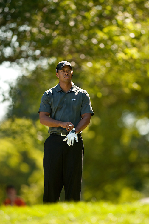 NEWTOWN SQUARE, PA - JULY 3: Tiger Woods during the third round of the AT&T National at Aronimink Golf Club on July 3, 2010 in Newtown Square, Pennsylvania. (Photo by Darren Carroll) *** Local Caption *** Tiger Woods