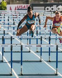 women's 100 Hurdles, Tiffany Porter, Cindy Billaud, adidas Grand Prix Diamond League track and field meet