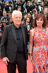 Sabine Azema, Andre Dussolier attending the opening ceremony and premiere of The Dead Don't Die, during the 72nd Cannes Film Festival.