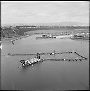 "ackroyd-P272-13 ""Rivergate Aerials. December 22, 1966"" (dredge by Swan Island, between Gunderson & Swan Island)"
