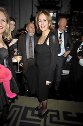 CAROLINE MICHEL at a party to celebrate the publication of 'In Bed With' held at the Artesian Bar,The Langham Hotel, 1c Portland Placeon 11th February 2009.