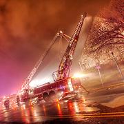 Fire destroys Westport Presbyterian Church in Kansas City Missouri.