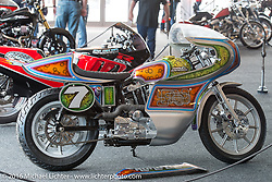 Harley-Davidson Inviational Bike Show at the Harley-Davidson Museum during the Milwaukee Rally. Milwaukee, WI, USA. Sunday, September 4, 2016. Photography ©2016 Michael Lichter.