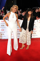 Tess Daly, Claudia Winkleman, National Television Awards, The O2, London, UK, 22 January 2019, Photo by Richard Goldschmidt