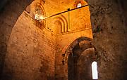 Arab Norman architecture hermitage church of San Giovanni, San Giovanni degli Eremiti, Palermo, Sicily, Italy in 1999