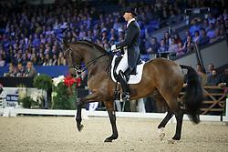 Kittel Patrick, (SWE), Delaunay <br /> Grand Prix Kur Vian Group WDM<br /> Vlaanderen Kerstjumping - Memorial Eric Wauters - <br /> Mechelen 2015<br /> © Hippo Foto - Dirk Caremans<br /> 28/12/15