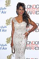 Sinitta, London Lifestyle Awards 2014, The Troxy, London UK, 08 October 2014, Photo By Brett D. Cove