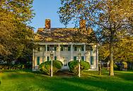 Historic Orange Webb House, Orient, Long Island, New York, USA