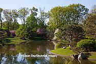 65021-03510 Japanese Gardens in spring, Missouri Botanical Gardens, St Louis, MO