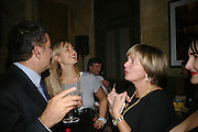 Elizabeth Thurn und Taxis and  Princess Gloria von Thurn und Taxis .   SIMON de PURY AND THE PARTNERS OF PHILLIPS de PURY & COMPANY Host a dinner in honour of <br />ILYA AND EMILIA KABAKOV. FOLLOWED BY THE BOX PARTY HOSTED  BY QUINTESSENTIALLY.  WILTONS <br />GRACES ALLEY  OFF ENSIGN STREET, London E1. 12 October 2007. -DO NOT ARCHIVE-© Copyright Photograph by Dafydd Jones. 248 Clapham Rd. London SW9 0PZ. Tel 0207 820 0771. www.dafjones.com.