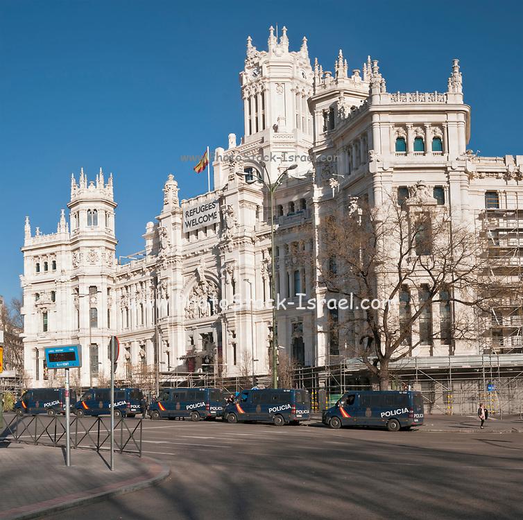 Palacio de Cibeles, City Hall, Madrid, Spain