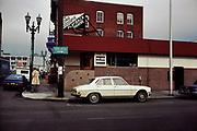 CS02512. Long Goodbye. NW Tenth & Everett. February 29, 1980