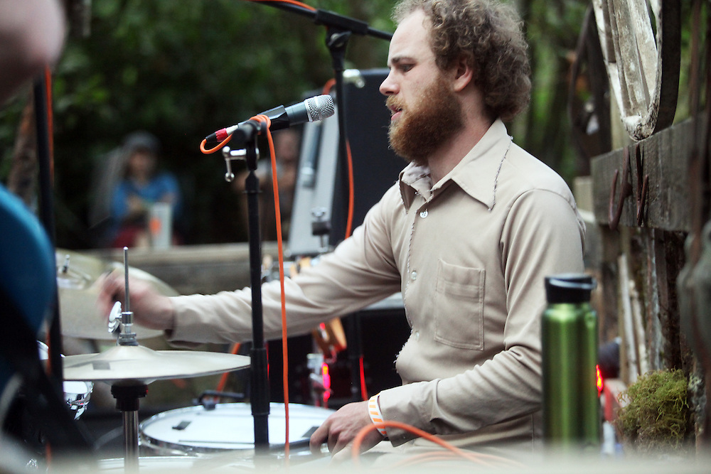 Sean Hayes Band. Pickathon 2010. Photographed by Thomas Patterson.