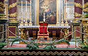 Interior of Basilica di Santa Maria Maggiore, Rome, Italy
