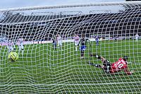 Goal Alexandre LACAZETTE - 07.12.2014 - Evian Thonon / Lyon - 17eme journee de Ligue 1 -<br />Photo : Jean Paul Thomas / Icon Sport