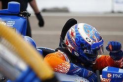 March 10, 2018 - St. Petersburg, Florida, United States of America - March 10, 2018 - St. Petersburg, Florida, USA: Scott Dixon (9) sits in his car during final practice for the Firestone Grand Prix of St. Petersburg at Streets of St. Petersburg in St. Petersburg, Florida. (Credit Image: © Justin R. Noe Asp Inc/ASP via ZUMA Wire)
