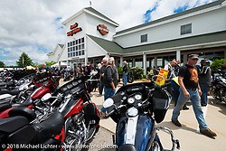 Laconia Harley-Davidson during Laconia Motorcycle Week. NH, USA. Friday, June 15, 2018. Photography ©2018 Michael Lichter.
