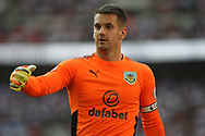 Burnley Goalkeeper Thomas Heaton looks on.  Premier league match, Tottenham Hotspur v Burnley at Wembley Stadium in London on Sunday 27th August 2017.<br /> pic by Steffan Bowen, Andrew Orchard sports photography.