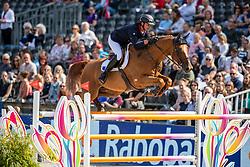 Delmotte Nicolas, FRA, Urvoso du Roch<br /> European Championship Jumping<br /> Rotterdam 2019<br /> © Hippo Foto - Dirk Caremans<br /> Delmotte Nicolas, FRA, Urvoso du Roch