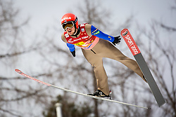 Lauri Asikainen (FIN) during the Ski Flying Hill Men's Team Competition at Day 3 of FIS Ski Jumping World Cup Final 2017, on March 25, 2017 in Planica, Slovenia. Photo by Ziga Zupan / Sportida