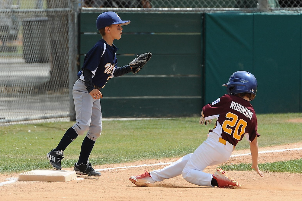 South Sunrise Little League A+ Trojans take on the Anteaters!