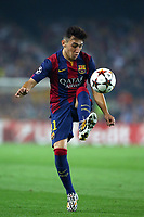 Munir El Haddadi of FC Barcelona during the UEFA Champions League, Group F, football match between FC Barcelona and Ajax Amsterdam on October 21, 2014 at Camp Nou Stadium in Barcelona, Spain. Photo MANUEL BLONDEAU / AOP PRESS / DPPI
