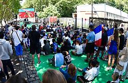 June 16, 2018 - Paris, France - Ambiance - France vs Australie (Credit Image: © Panoramic via ZUMA Press)