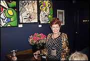 LADY SANDRA BATES, Lady Sandra Bates hosts  her Exhibition of<br /> FINE ART AT TRAMP. Paintings by established and emerging artists: London. 10 February 2015.