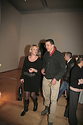 LOUISA BUCK AND ANTHONY GORMLEY, THE PAUL HAMLYN FOUNDATION AWARDS FOR VISUAL ARTS 2006. Royal Academy. London. 9 November 2006. ONE TIME USE ONLY - DO NOT ARCHIVE  © Copyright Photograph by Dafydd Jones 66 Stockwell Park Rd. London SW9 0DA Tel 020 7733 0108 www.dafjones.com