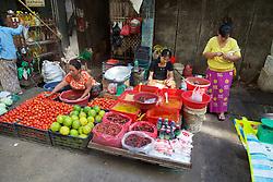 Selling Vegetables, Gyee Zai Market