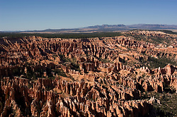 Bryce Canyon National Park, Ampitheater and Hoodoos of Silent City from Bryce Point, dawn, erosion, arid, Utah, UT, Southwest America, American Southwest, US, United States, Image ut348-17529, Photo copyright: Lee Foster, www.fostertravel.com, lee@fostertravel.com, 510-549-2202