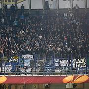 Lazio's Supporters fans during their UEFA Europa League Quarter Final first match Fenerbahce between Lazio at Sukru Saracaoglu stadium in Istanbul Turkey on Thursday 04 April 2013. Photo by Aykut AKICI/TURKPIX