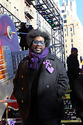 New York, NY-November 23: Recording Artist QuestLove of the ROOTS and the Jimmy Fallon Show attends the 91st Annual Macy's Thanksgiving Day Parade on November 23, 2017 held in New York City Credit: (Photo by Terrence Jennings/terrencejennings.com)