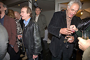 MARTIN AMIS AND PETER MAYER,, party to celebrate the 100th issue of Granta magazine ( guest edited by William Boyd.) hosted by Sigrid Rausing and Eric Abraham. Twentieth Century Theatre. Westbourne Gro. London.W11  15 January 2008. -DO NOT ARCHIVE-© Copyright Photograph by Dafydd Jones. 248 Clapham Rd. London SW9 0PZ. Tel 0207 820 0771. www.dafjones.com.