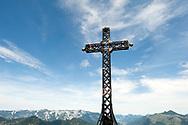 Summit cross on Katrin, near Bad Ischl, Salzkammergut, Austria © Rudolf Abraham