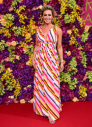 Faye Tozer attending the Crazy Rich Asians Premiere held at Ham Yard Hotel, London.
